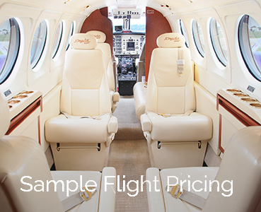 Sample Flight Pricing - Royal Air Charter Michigan - sample1